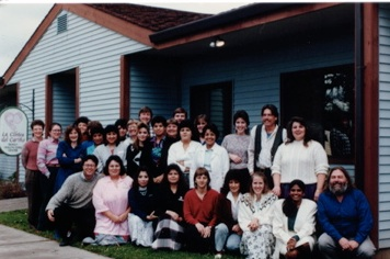 Staff of La Clinica del Carino 1989